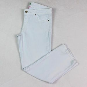 Lilly Pulitzer Straight Leg Jeans Light Wash